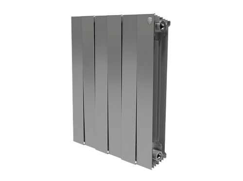 Биметаллический радиатор Royal Thermo PianoForte 500/Silver Satin (4 секции)
