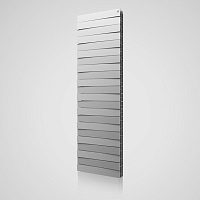 Биметаллический радиатор Royal Thermo Pianoforte Tower /Silver Satin (серебристый)