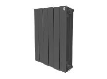 Биметаллический радиатор Royal Thermo PianoForte 500/Noir Sable (черный)